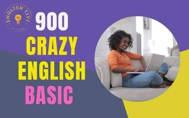 Crazy English Basic 900 Sentences Daily Use in Life