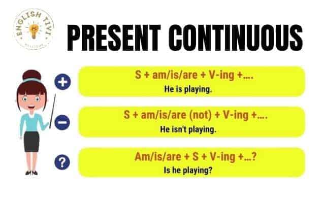 Present-Continuous-Tense