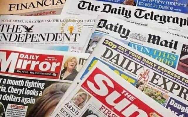Read bilingual English stories through newspapers