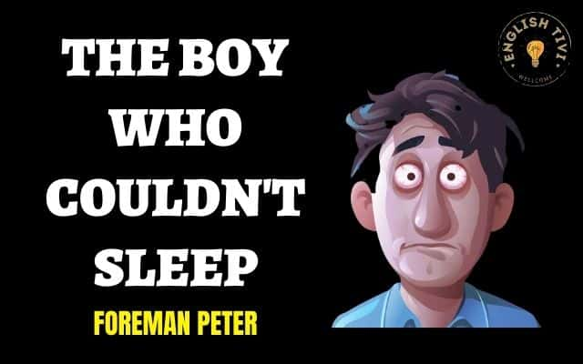 The Boy Who Couldn't Sleep – English Stories – Level 1