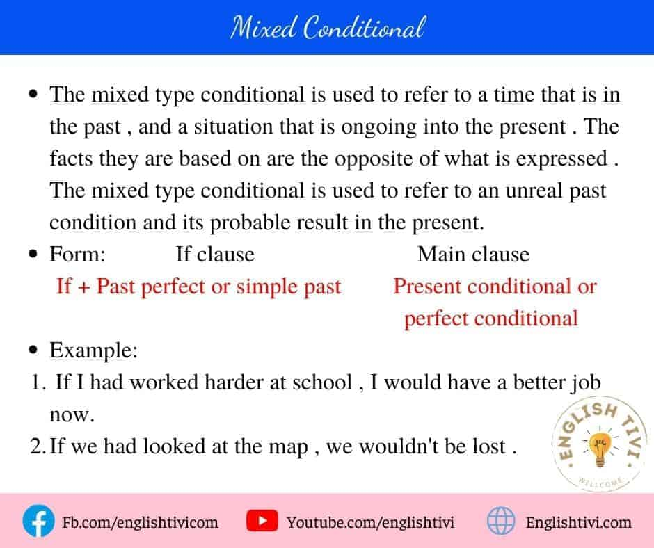 The Mixed Conditional
