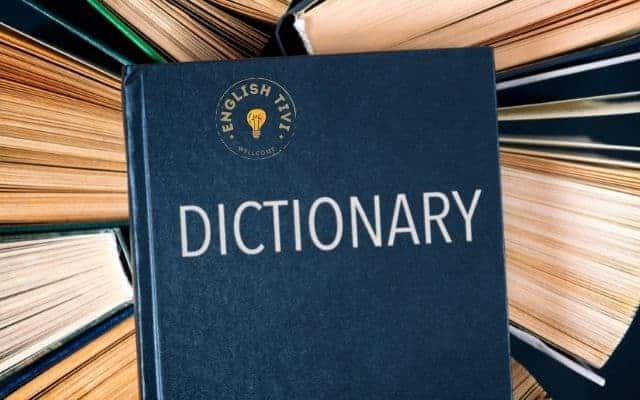 learn english Carry a Dictionary
