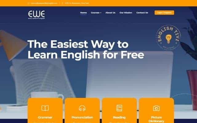 Learn English Online Easy World Of English