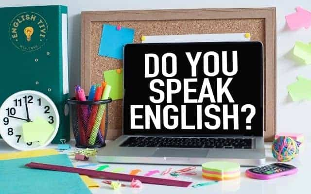 learn english Speak Every Day