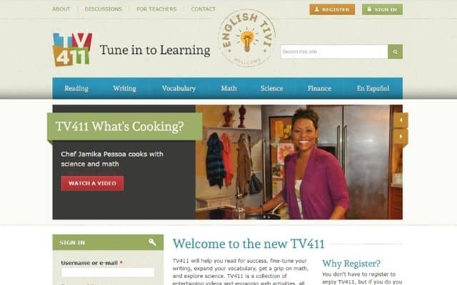 Learn English Online TV 411