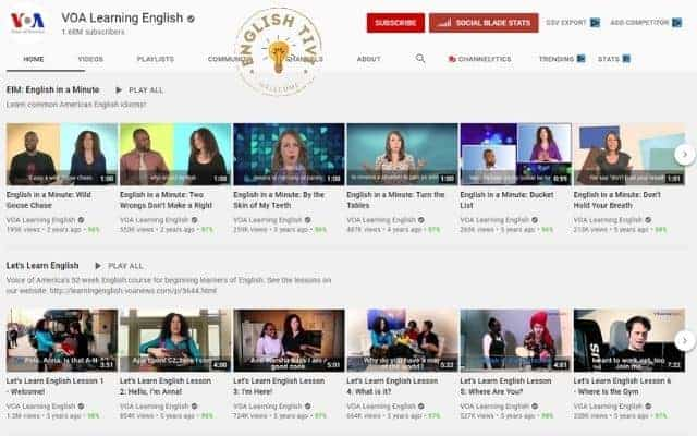 Learn English Online VOA Learning English