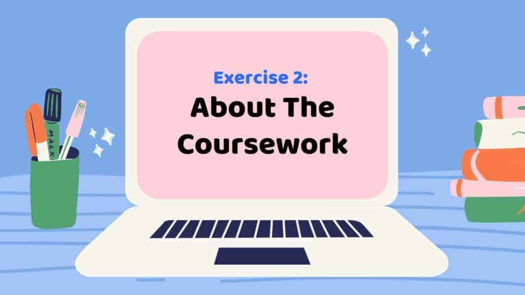 Study English with Us: About The Coursework